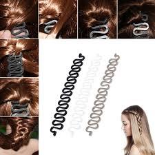 hair bun clip women fashion hair styling clip stick bun maker braid tool hair