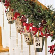 garland for staircase decore