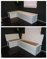 corner kitchen table with storage bench kitchen banquette with storage great idea for storing tablecloths