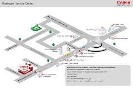 Map Service Center Visit Us Canon Thailand Personal