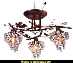 Chandelier Mural Decorating Theme Bedrooms Maries Manor Tuscany Vineyard Style