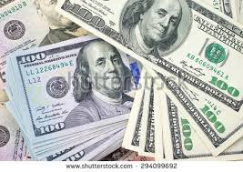 pile one hundred dollar bills stock photo 294099692
