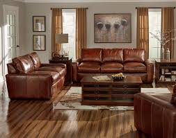 wide arms deep seat beautiful leather this sofa set from