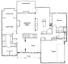 new homes floor plans first floor master custom floor plan cary stanton homes