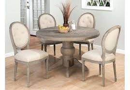 distressed round dining table elegant round modern laminated wood white distressed dining table