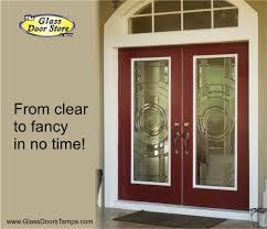 glass door tampa envoy single door or door with sidelights the glass door store