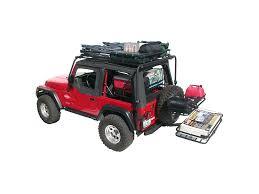 cargo rack for jeep wrangler olympic 4x4 wrangler dave s rack cargo carrier sunshade textured