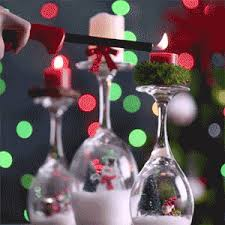 wine glass snow globes tis the season to be crafty with these five festive crafts