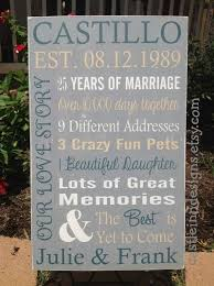 7th wedding anniversary gifts for best 25 5th wedding anniversary gift ideas on diy 5th