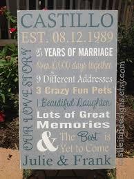 fifth wedding anniversary gift best 25 5th wedding anniversary gift ideas on diy 5th