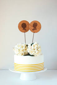 5 modern cake toppers