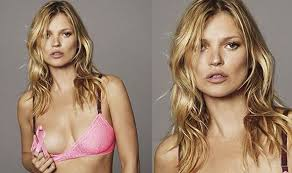 bare breast a charitable flash kate moss reveals for breast cancer