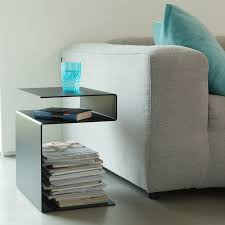 table d appoint pour canapé meuble multi fonctions huk table d appoint étagère tabouret