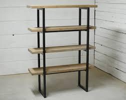 Oak Bookshelves For Sale by Industrial Bookcase Etsy