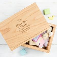 baptism memory box preview personalised oak christening keepsake memory box dove jpg