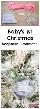 baby keepsake ornaments craftaholics anonymous diy baby s christmas ornament