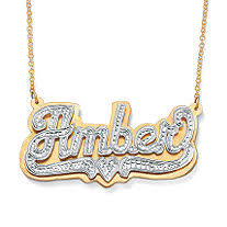 sterling silver nameplate necklace personalized necklaces personalized gold necklaces gold name