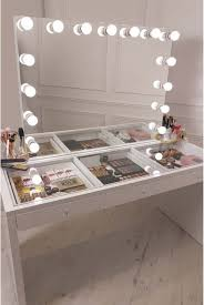 lighted makeup vanity sets diy vanity mirror with lights for bathroom and makeup station