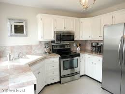 kitchen vintage white kitchen cabinets and marble countertops