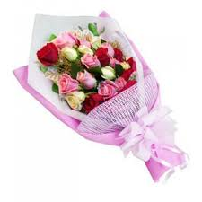 Colored Roses Affordable Lovely Mixed Roses Bouquet Muntinlupa Payless Flora