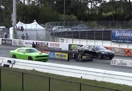 youtube lexus drag hellcat driver who lost drag race to tesla p85d ready for rematch