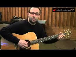 chitarra vasco lezioni di chitarra come suonare ogni volta senza barre vasco