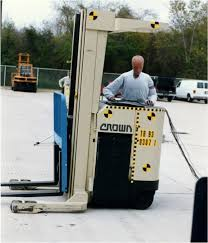 analysis of stand up forklift operator injuries in off the dock