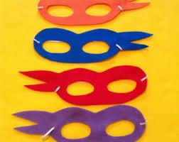 ninja turtle masks etsy
