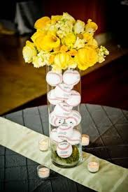baseball centerpieces baseball themed wedding centerpieces thoughts weddingbee
