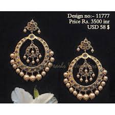 craftsvilla earrings buy antique kundan earrings online craftsvilla