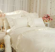 diaidi korean bedding wedding bed cover cream bedding set luxury