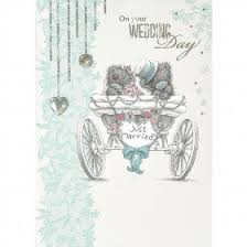 Just Married Cards Me To You The Bride U0026 Groom Best Wishes Wedding Card Characterwise