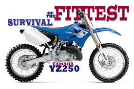 1970s motocross bikes dirt bike magazine survival of the fittest the yamaha yz250 2