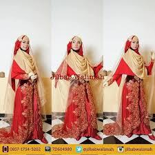 tutorial hijab syar i untuk pengantin jilbab walimah menggratiskan penyewaan pakaian pengantin syar i
