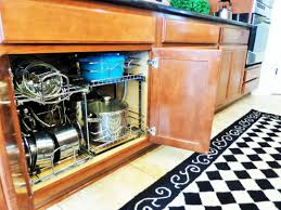 pinterest kitchen organization ideas cabinet pots and pans organizer controlling craziness pots and
