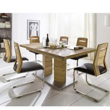 Solid Oak Extending Dining Table And 6 Chairs Extending Dining Room Table And 6 Chairs U2022 Dining Room Tables Ideas