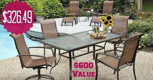 Kmart Patio Table Kmart 326 49 Essential Garden Harley 10 Patio Set 600