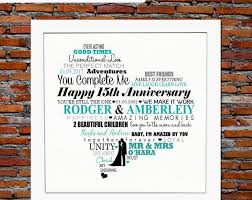 15th wedding anniversary gifts for best 25 15th wedding anniversary gift ideas on 20th