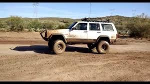 mud jeep cherokee playing in the mud in my 1996 jeep cherokee xj youtube