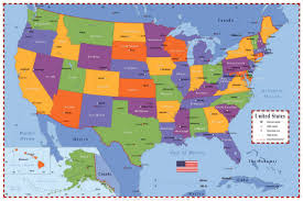 map of usa states and capitals and major cities us map with states capitals and abbreviations quiz maps of usa