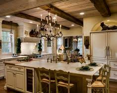 Traditional Kitchens Designs Kitchen Of The Week An Antique White Kitchen With Rustic Beams