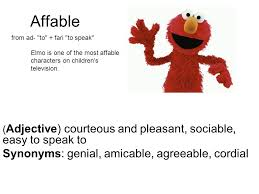 Decorous Synonym Affable Synonyms Genial Amicable Agreeable Cordial Ppt