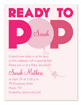 baby shower invite wording ready to pop baby shower invitations by invitation consultants