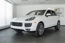 porsche cayenne white 2017 porsche cayenne platinum edition for sale in colorado springs