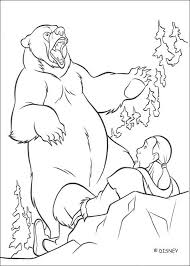 brother bear coloring pages download print free