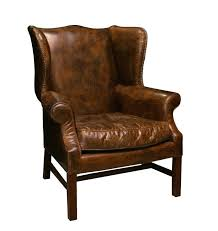 Leather Wingback Chair With Ottoman Design Ideas Leather Wingback Chair With Ottoman Best Leather Chair Ideas On
