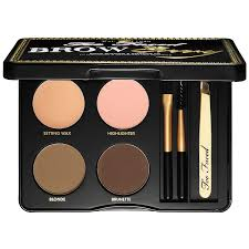 brow envy brow shaping u0026 defining kit too faced sephora