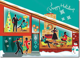 retro christmas cards christmas cards from the retro christmas card company falalalala