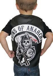 Samcro Halloween Costume Child Sons Anarchy Costume Vest