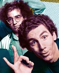larry david and michael richards on the sketch comedy show